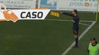 FC Arouca, Caso, Gêgê aos 39'