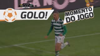 GOLO! Sporting CP, Slimani aos 90', FC Arouca 0-1 Sporting CP