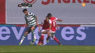 Sporting CP, Jogada, B. Ruiz aos 8'