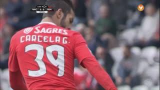 SL Benfica, Jogada, M. Carcela aos 8'