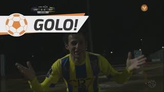 GOLO! U. Madeira, Danilo Dias aos 2', U. Madeira 1-0 Estoril Praia