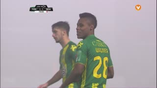 CD Tondela, Jogada, Nathan Junior aos 75'