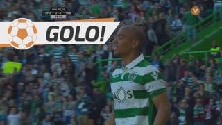 GOLO! Sporting CP, João Mário aos 19', Sporting CP 2-0 U. Madeira
