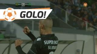 GOLO! Sporting CP, Slimani aos 39', Rio Ave FC 0-2 Sporting CP