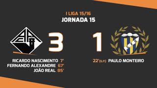 I Liga (15ªJ): Resumo A. Académica 3-1 U. Madeira