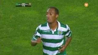 Sporting CP, Jogada, Gelson Martins aos 12'