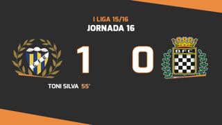 I Liga (16ªJ): Resumo U. Madeira 1-0 Boavista FC