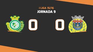 I Liga (9ªJ): Resumo Vitória FC 0-0 FC Arouca