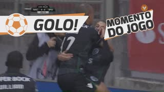 GOLO! Sporting CP, Slimani aos 3', CD Nacional 0-1 Sporting CP