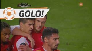GOLO! SC Braga, N. Stojiljković aos 22', SC Braga 1-0 FC P.Ferreira