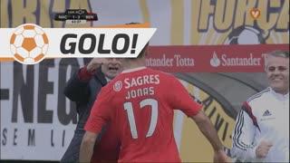 GOLO! SL Benfica, Jonas aos 63', CD Nacional 1-3 SL Benfica