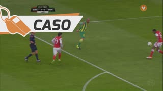 SC Braga, Caso, Djavan aos 15'