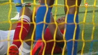SC Braga, Jogada, Marcelo Goiano aos 2'