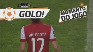 GOLO! SC Braga, Rui Fonte aos 80', SC Braga 1-0 Estoril Praia