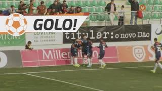 GOLO! Marítimo M., Dyego Sousa aos 31', CD Tondela 0-2 Marítimo M.