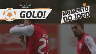 GOLO! SC Braga, Josue aos 52', SC Braga 2-1 Vitória FC