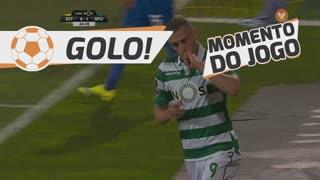 GOLO! Sporting CP, Slimani aos 45', Estoril Praia 0-2 Sporting CP