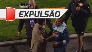 FC Arouca, Expulsão, Lito Vidigal aos 89'