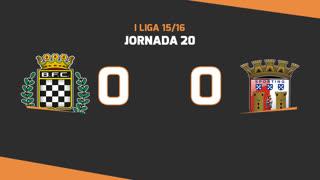 I Liga (20ªJ): Resumo Boavista FC 0-0 SC Braga
