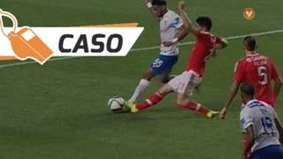 SL Benfica, Caso, Pizzi aos 37'
