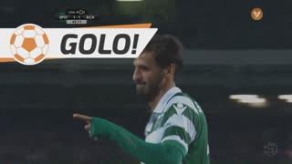 GOLO! Sporting CP, B. Ruiz aos 43', Sporting CP 2-1 A. Académica