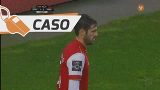 SC Braga, Caso, Ricardo Ferreira aos 64'
