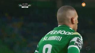 Sporting CP, Jogada, Slimani aos 12'