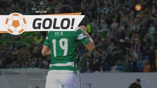 GOLO! Sporting CP, T. Gutiérrez aos 37', Sporting CP 2-0 Vitória FC