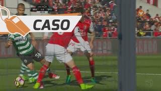 Sporting CP, Caso, Daniel Podence aos 30'