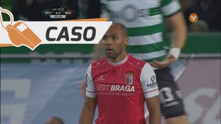 SC Braga, Caso, Wilson Eduardo aos 5'