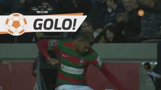 GOLO! Marítimo M., Raul aos 33', Marítimo M. 2-1 Sporting CP