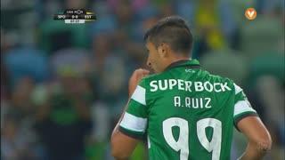 Sporting CP, Jogada, Alan Ruiz aos 8'