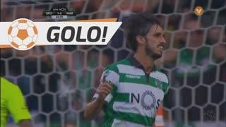 GOLO! Sporting CP, B. Ruiz aos 60', Sporting CP 2-0 Marítimo M.