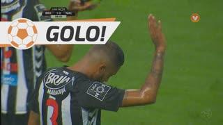 GOLO! SC Braga, César (p.b.) aos 9', SC Braga 1-0 CD Nacional
