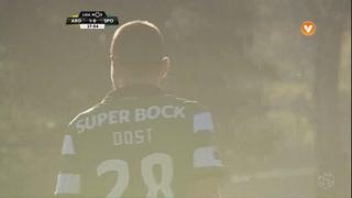 Sporting CP, Jogada, Bas Dost aos 28'