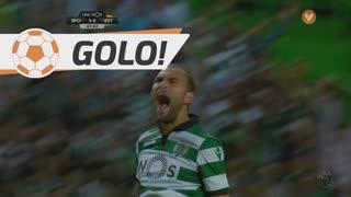 GOLO! Sporting CP, Bas Dost aos 62', Sporting CP 3-0 Estoril Praia