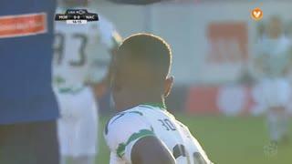 Moreirense FC, Jogada, E. Boateng aos 16'