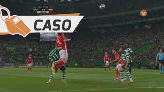 SL Benfica, Caso, V. Lindelöf aos 41'