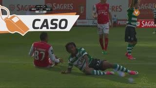Sporting CP, Caso, Gelson Martins aos 48'