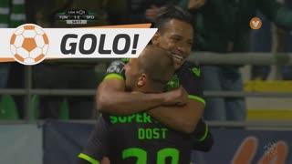 GOLO! Sporting CP, Bas Dost aos 55', CD Tondela 1-2 Sporting CP