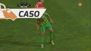 SL Benfica, Caso, F. Cervi aos 10'