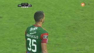Marítimo M., Jogada, Fransérgio aos 90'+3'