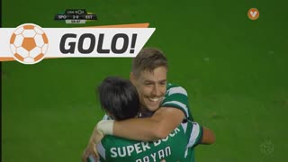 GOLO! Sporting CP, S. Coates aos 59', Sporting CP 2-0 Estoril Praia