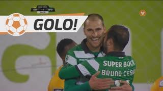 GOLO! Sporting CP, Bas Dost aos 86', Estoril Praia 0-2 Sporting CP
