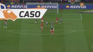 SL Benfica, Caso, Fejsa aos 42'