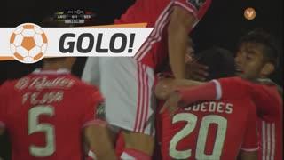 GOLO! SL Benfica, Nélson Semedo aos 16', FC Arouca 0-1 SL Benfica