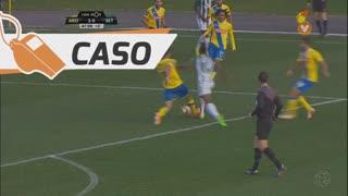 Vitória FC, Caso, Mikel Agu aos 45'