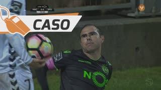 Sporting CP, Caso, Bruno César aos 74'