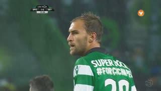 Sporting CP, Jogada, Bas Dost aos 14'