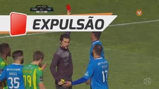 CD Feirense, Expulsão, Flavio aos 90'